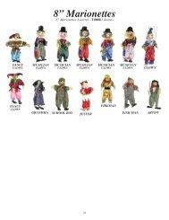 "8"" Marionettes"