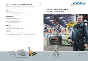 balaNZas dE colgaR / balaNZas dE gRúa - KERN & SOHN GmbH
