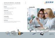 zubehör - KERN & SOHN GmbH