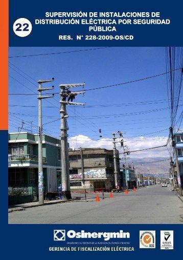 Supervisión de Instalaciones de Distribución Eléctrica por Seguridad
