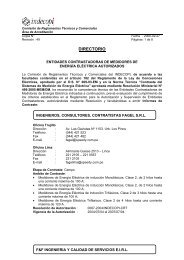 organismos de certificacion autorizados - Organismo Supervisor de ...