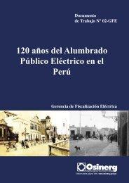 120 años del Alumbrado Público Eléctrico en el - Organismo ...