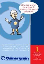 Â¿Quiere poner un negocio formal de venta de GLP? - Organismo ...