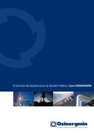 Osin rgmin e - Organismo Supervisor de la Inversión en Energía y ...