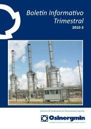 Boletín Informativo Trimestral 2010-3 - Organismo Supervisor de la ...
