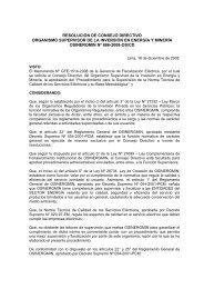 PROCEDIMIENTO - Organismo Supervisor de la Inversión en ...