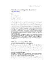 3.2 Lichenoide und papulöse Dermatosen - Derma-Net-Online.de