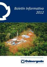 Boletín Informativo 2012 - Organismo Supervisor de la Inversión en ...
