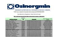 VIII Curso Anual de Extensión Universitaria del OSINERGMIN