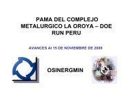 Plantas de ácido sulfúrico - Organismo Supervisor de la Inversión ...