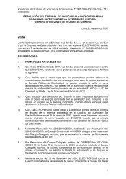 TSC19:Resolución N° 005-2005-TSC - Organismo Supervisor de la ...
