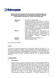 Resolución N° 004-2008-TSC/34-2007-TSC-OSINERGMIN