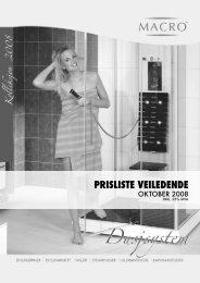 PRISLISTE VEILEDENDE - Oslo VVS Senter