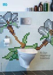 IFÖ Sign Veggopphengt toalettskål - coBuilder