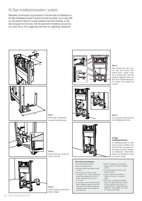 IFÖ Sign Instalasjonsystem - coBuilder