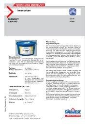 Innenfarben - Farbenhaus Metzler Onlineshop