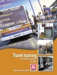 Travel training - Transport for Greater Manchester