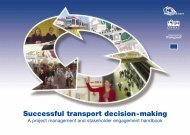 Successful transport decision-making - Osmose