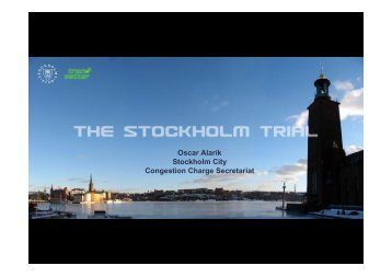 The Stockholm Trial - Osmose