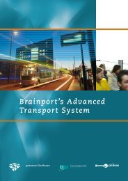 Brainport's Advanced Transport System - Eindhoven