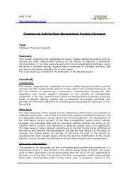 Commercial Vehicle Fleet Management System (Hungary) - Osmose