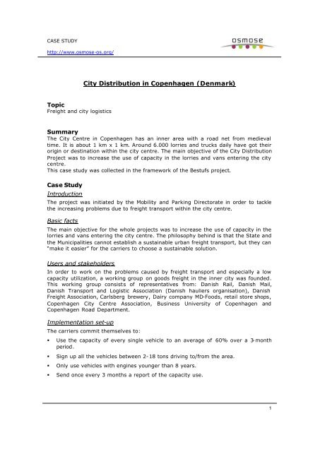 Copenhagen_city access pdf - Osmose