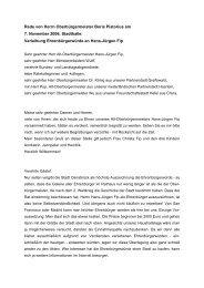 Rede von Boris Pistorius zur Verleihung der ... - Stadt Osnabrück