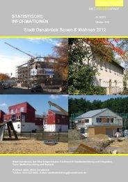 Bauen und Wohnen 2012 - Stadt Osnabrück