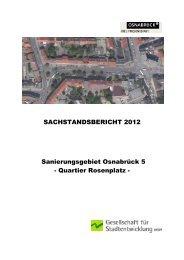 Sachstandsbericht 2012 - Stadt Osnabrück