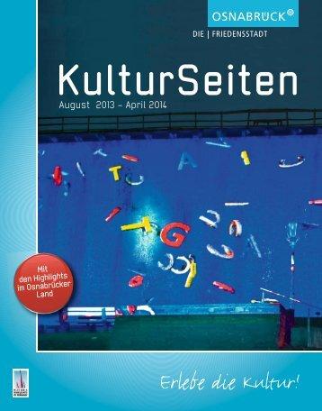 KulturSeiten: Ein halbes Jahr Kultur in einem ... - Stadt Osnabrück