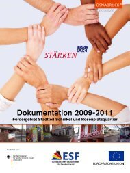 "Datei ""Dokumentation 2009-2011"" - Stadt Osnabrück"