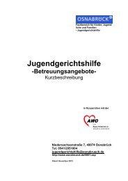 Kurzbeschreibung Betreuungsangebote der ... - Stadt Osnabrück
