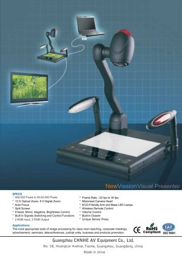 Leaflet 16-05-12 - Guangzhou Osoto Electronic Equipment Co., Ltd
