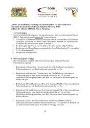 Leitlinie zur staatlichen Förderung am Internat St. Paul in Nürnberg
