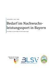 BLSV-BSSB-OSP Nachwuchsleistungssport-Konzept