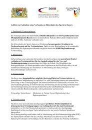 Leitlinie zur Aufnahme eines Verbandes an Eliteschulen des Sports ...