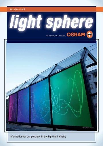 light sphere - Osram