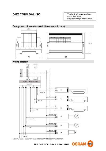 Outstanding Technical Information Dmx Conv Dali So Osram Wiring Digital Resources Ommitdefiancerspsorg