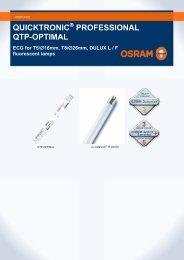 QUICKTRONIC PROFESSIONAL QTP-OPTIMAL - Osram
