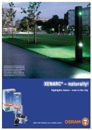 Headline with Glow XENARC® – naturally! - Osram