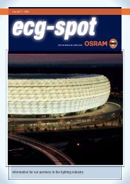 ecg-spot 1/06 - OSRAM