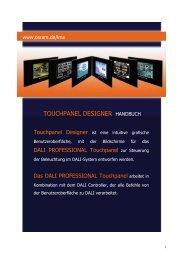 OSRAM Touch Panel Designer