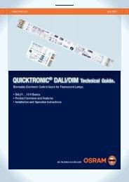DALI – Technical guide - Osram