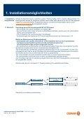 Installationsanweisu Umrüstung an KVG g und Betrieb an ... - Osram - Page 2