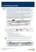 Installationsanweisu Umrüstung an KVG g und Betrieb an ... - Osram - Page 3