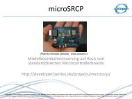 microSRCP - Open Source Software an Schulen