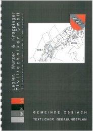 Bebauungsplan - Textlicher (1.010 KB) - .PDF - Ossiach