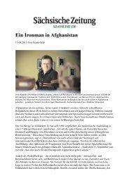 Ein Ironman in Afghanistan