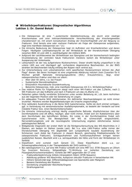 R1203 Die osteoporotische Wirbelsäule.pdf - OSTAK