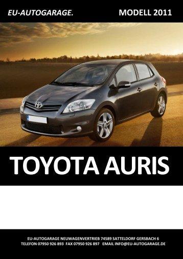 Auris Terra Klimaanlage+Aluräder (5-Türer) - Eu-Autogarage